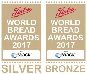 Silver and Bronze Tiptree-awards awarded to Daly Bread in 2017